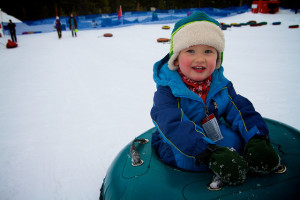 Snow Tubing at Soda Springs