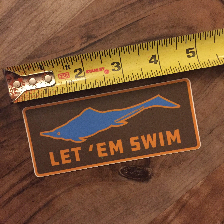 Ichthyosaur, Let em swim